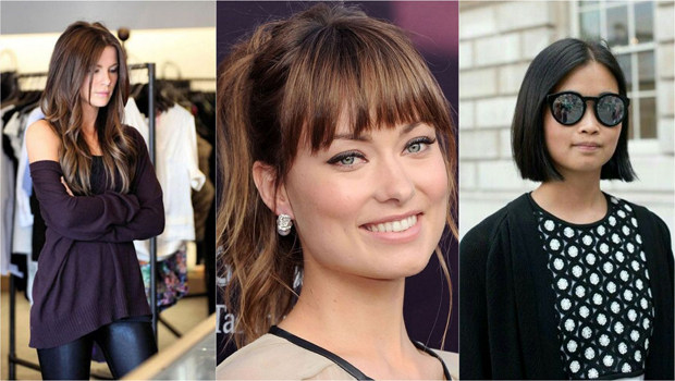 بالصور أحدث قصات شعر 2017 Square Face Hairstyles Square Face Shape Long Hair With Bangs