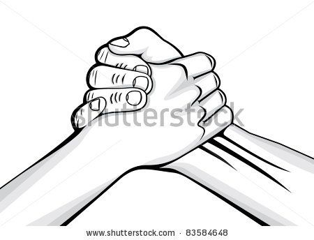 Together Strong Stock Photos Together Strong Stock Photography Hand Clipart Brother Tattoos Hand Art Drawing