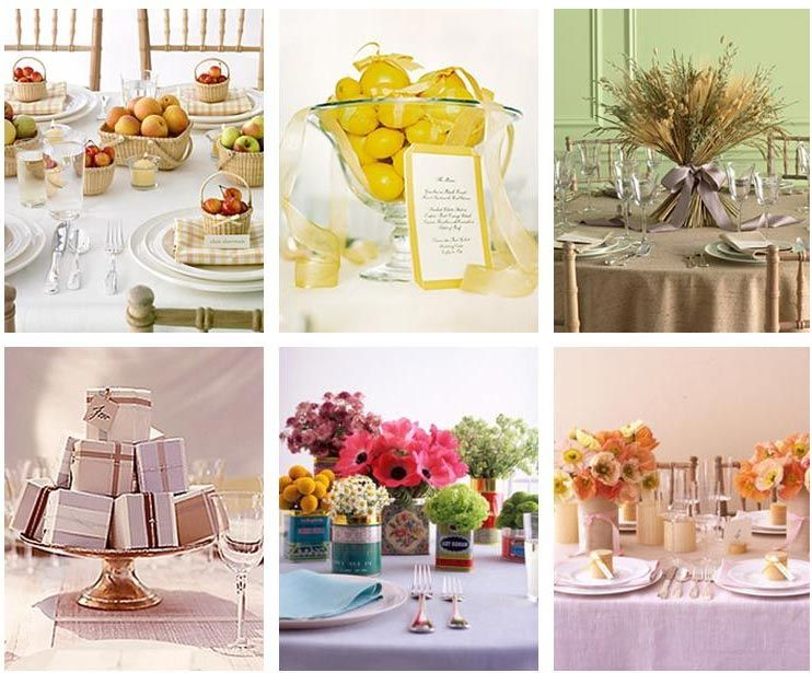 Martha stewart wedding table centerpieces table centre idea inspiration
