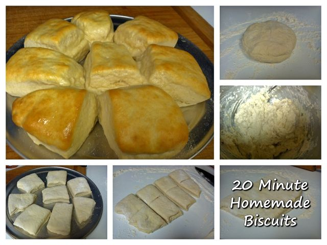 20 min homemade biscuits Recipe and step by step tutorial Pin now bake later :) #homemade