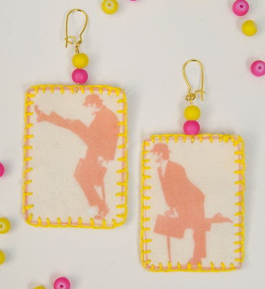 Today Miriam from the blog Mad Mim has this super creative and unusual earring tutorial for us. Read on to discover how to make your very own statement earrings using photo negatives! For this project you'll need some: SolarFast Dye SolarFast film and inkjet printer (there are other options if you only have a laser …