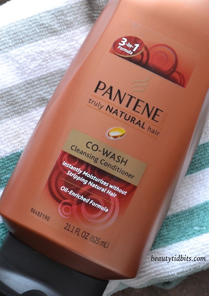 Pantene Truly Natural Co Wash Cleansing Conditioner