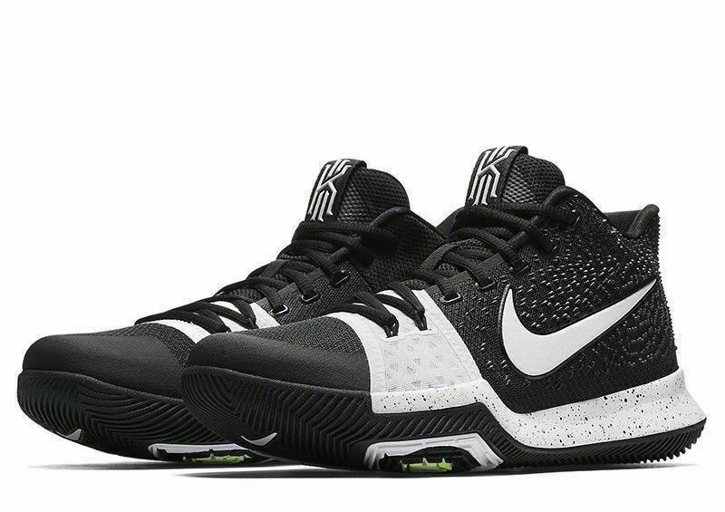 new concept 2a181 e6089 Nike Kyrie 3 TB Mens Basketball Shoes 11.5 Black White  Nike   BasketballShoes