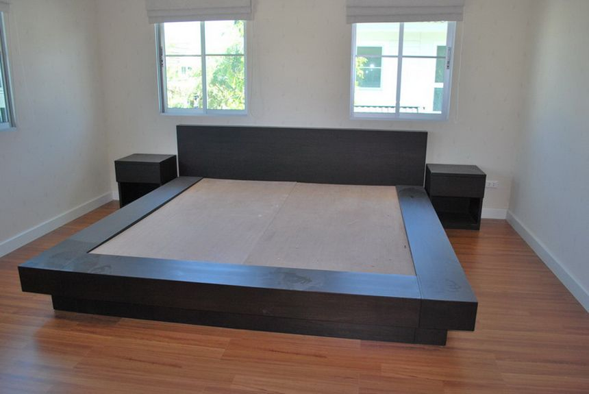 In about an hour all woodworking plans are step by step - Queen bed ideas for small room ...