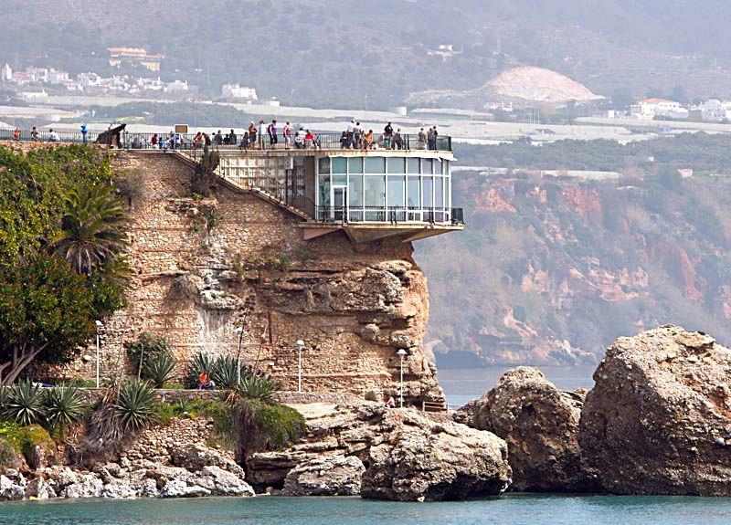 Balcon De Europa Nerja Lugares De España Pueblos De España Viajes