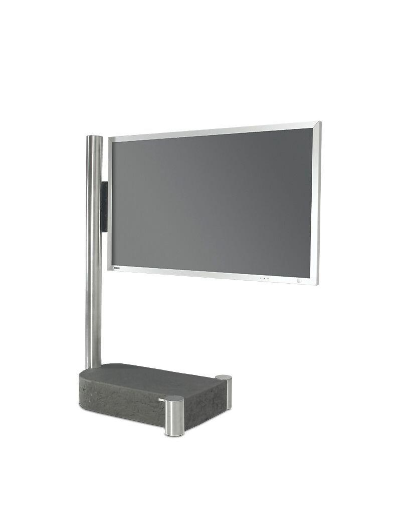 Wissmann Raumobjekte Porta Tv Girevole.Tv Holder Inidividual Art110 Product Design Wissmann