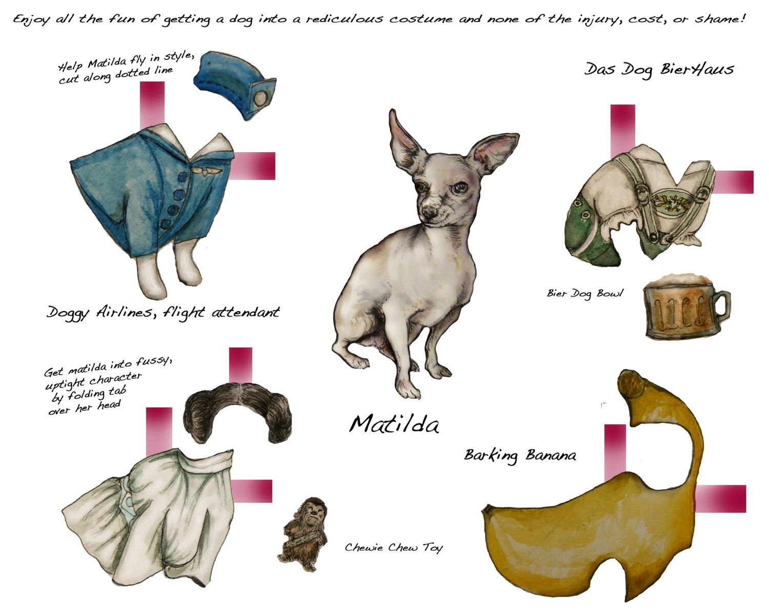 Paper Doll Doggy Styles Paper Dolls Vintage Paper Dolls Paper