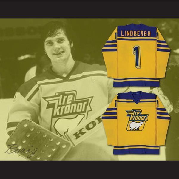 Pelle LIindbergh Tre Kroner Team Sweden Hockey Jersey NEW ...