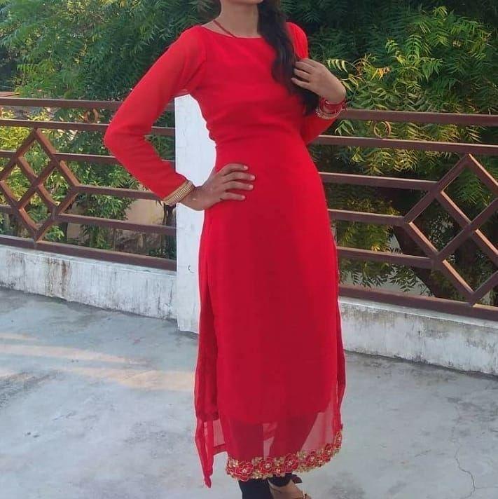 #madebyme #summercollection #jorjut #kurti #redcolour❤ #fashion #dress #love #proudtobeadesigner✌ #bookyourorders