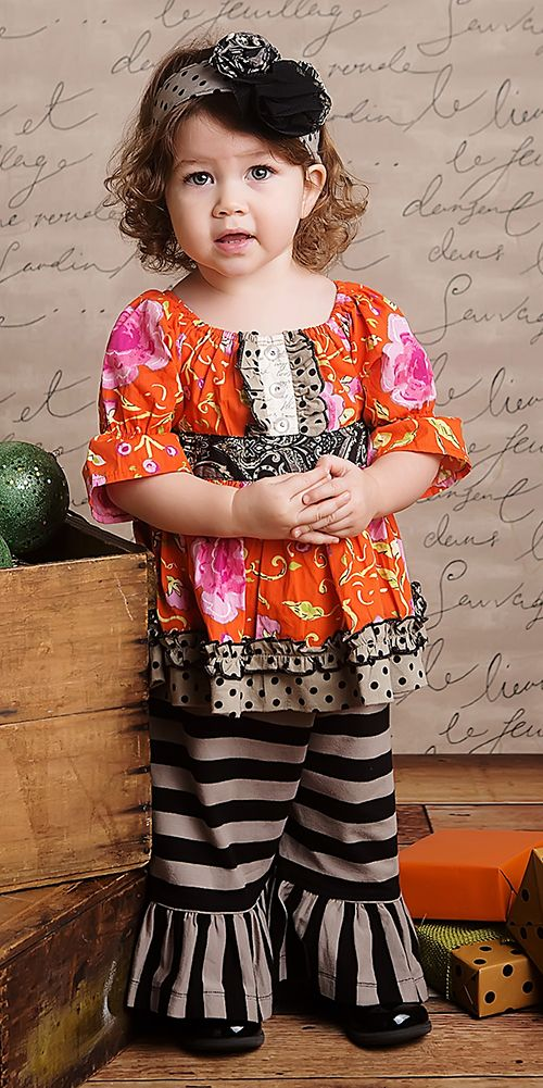 Mustard Pie Delilah Top and Pant Infant Holiday Outfit $92.00
