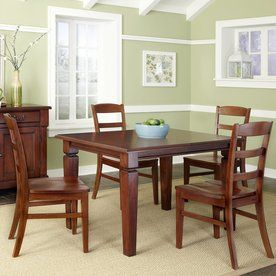 Home Styles Aspen Rustic Cherry Dining Set With Rectangular Dining Cool Cherry Dining Room Chairs Sale Review