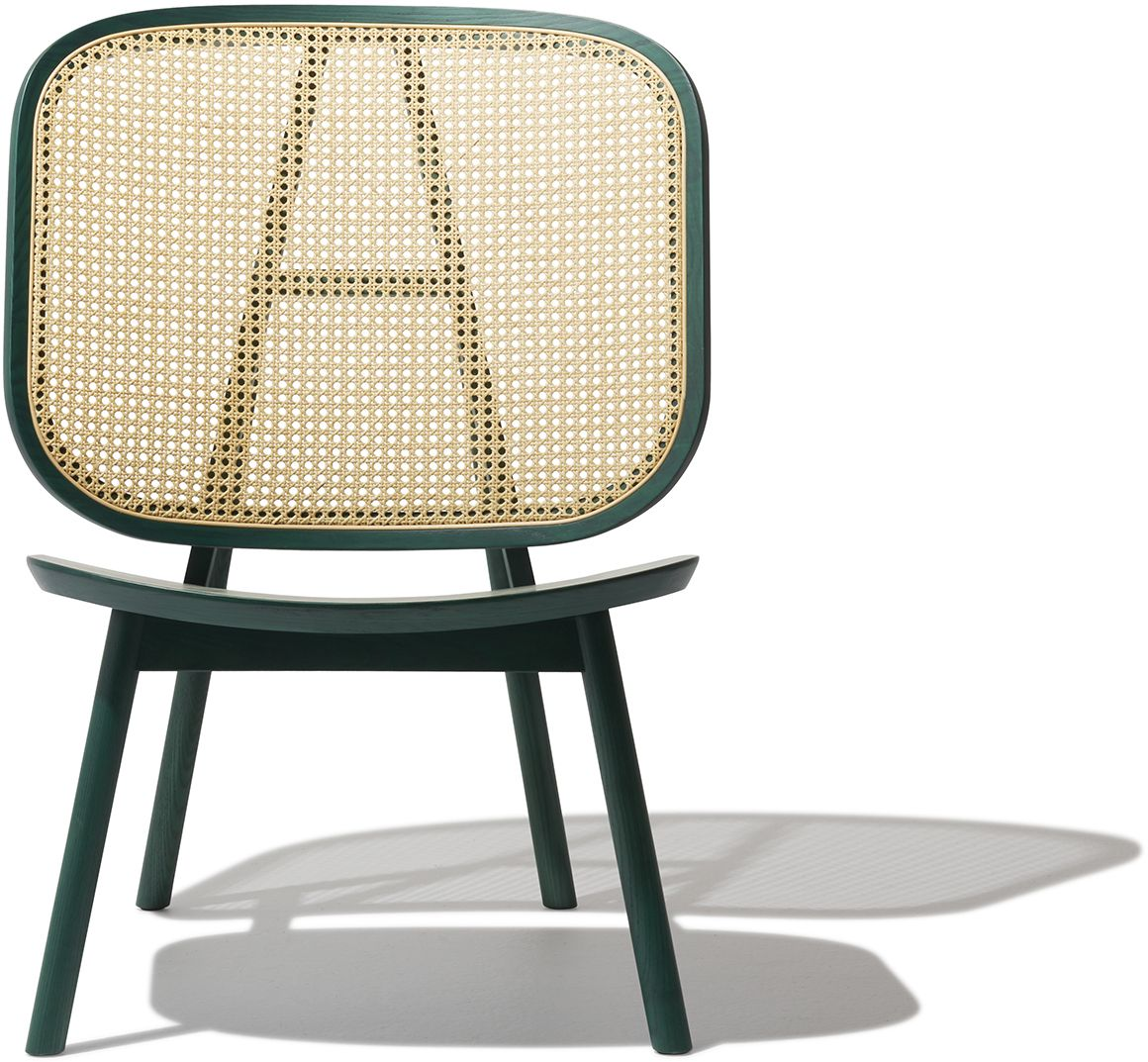 Cane lounge chair green in 2020 chair lounge chair
