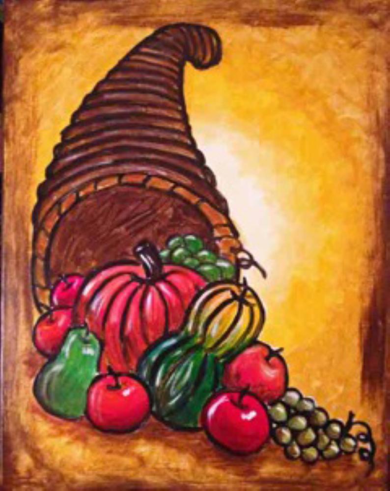 The Cornucopia Or Horn Of Plenty Symbolizes Abundance And