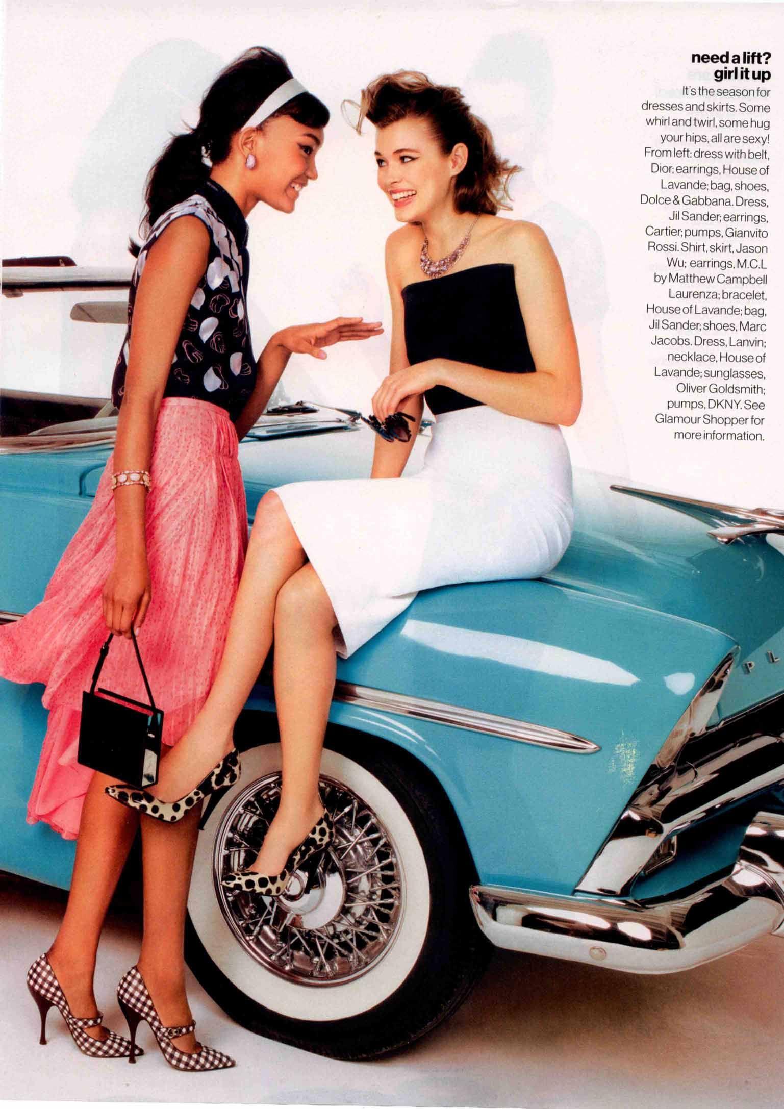 Barbizon Grad Josilyn Williams in Glamour Magazine 2012