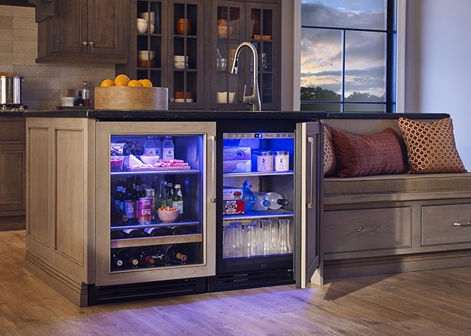8 Things To Consider Before Building Your Home Bar Kitchen Cabinets Decor Bars For Home Kitchen Banquette