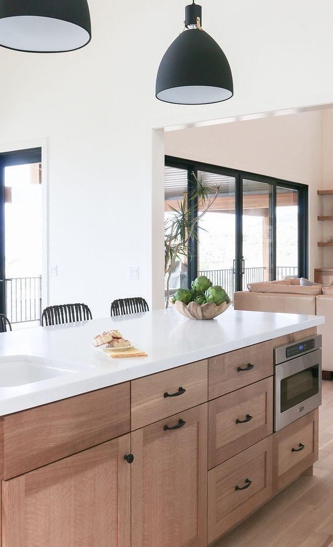 kitchen   White oak kitchen, White kitchen design, Kitchen ...