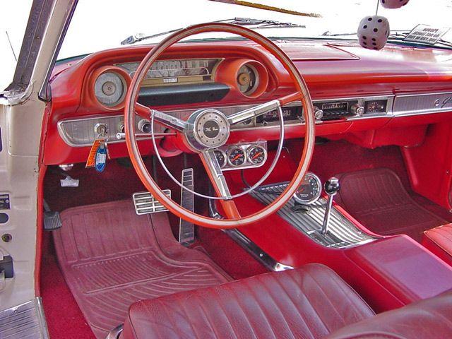 1963 Ford Galaxie 500 Xl Dash View Ford Galaxie Ford Galaxie