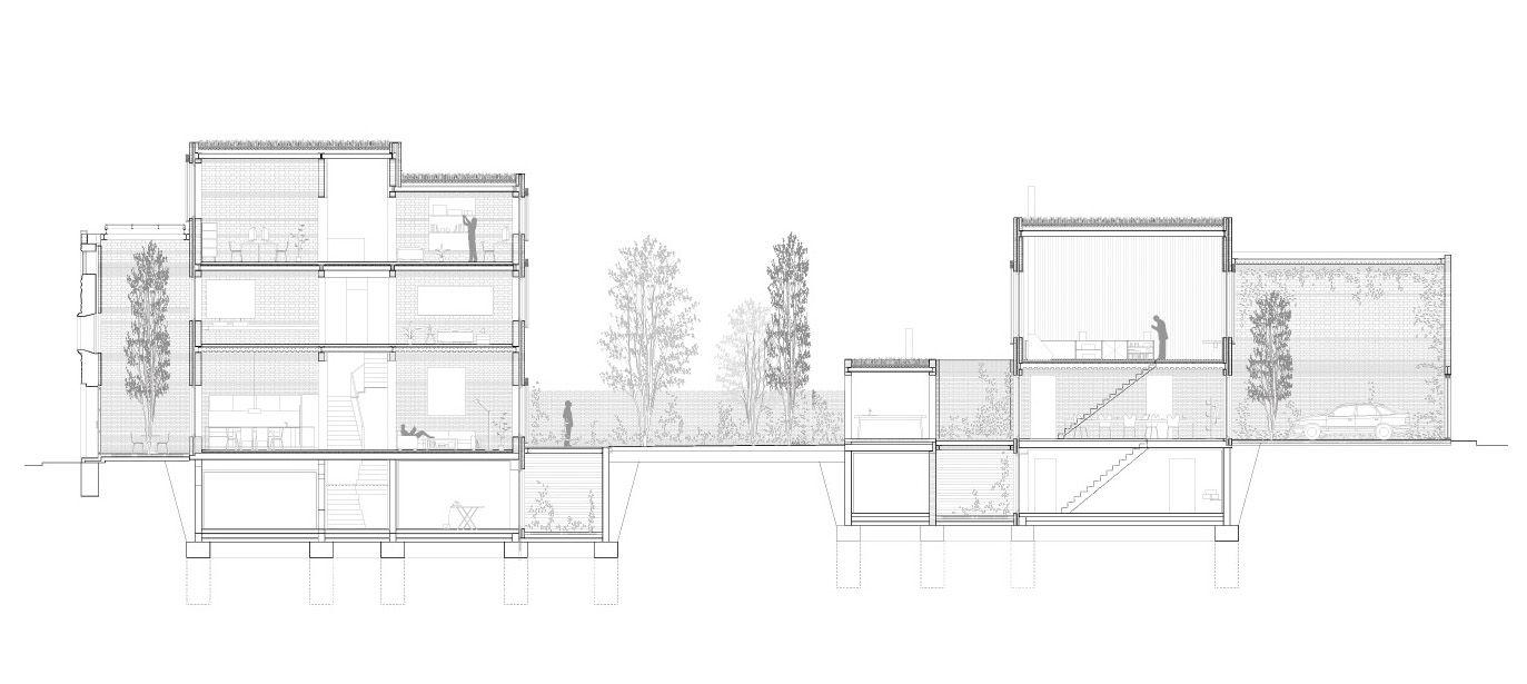 Harquitectes - House 1014, Granollers via Afasia
