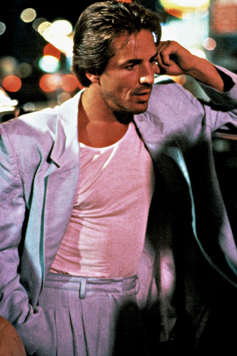 "don johnson as sonny crockett in ""miami vice"" 