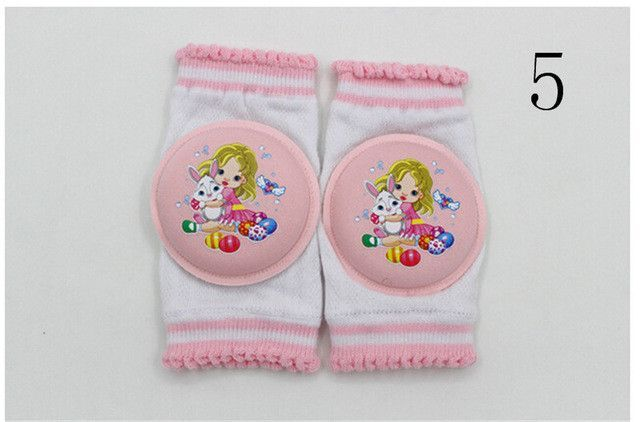 1Pair Baby Leg Warmers Toddler Safety Kids Knee Pads Short Kneepad Crawling Protective Leggings Breathable