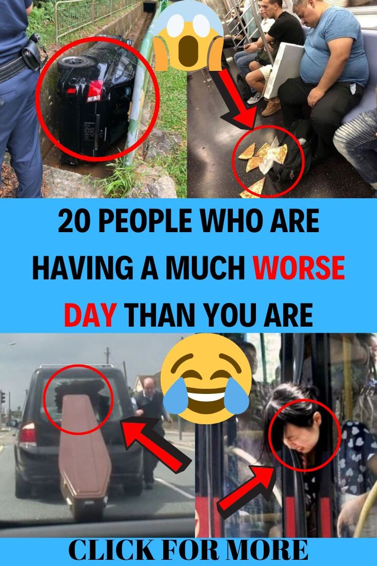 20 People Who Are Having a Much Worse Day Than You Are is part of Mr bean funny - Need to feel superior  Here's your chance