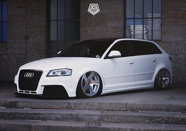 audi a3 8p sportback lowered audi vorsprung durch. Black Bedroom Furniture Sets. Home Design Ideas