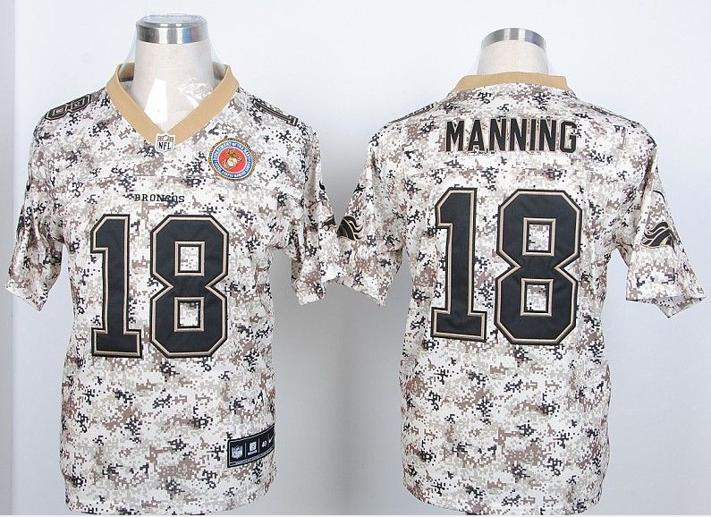 Nike NFL Jerseys Denver Broncos 18 Peyton Manning New disruptive