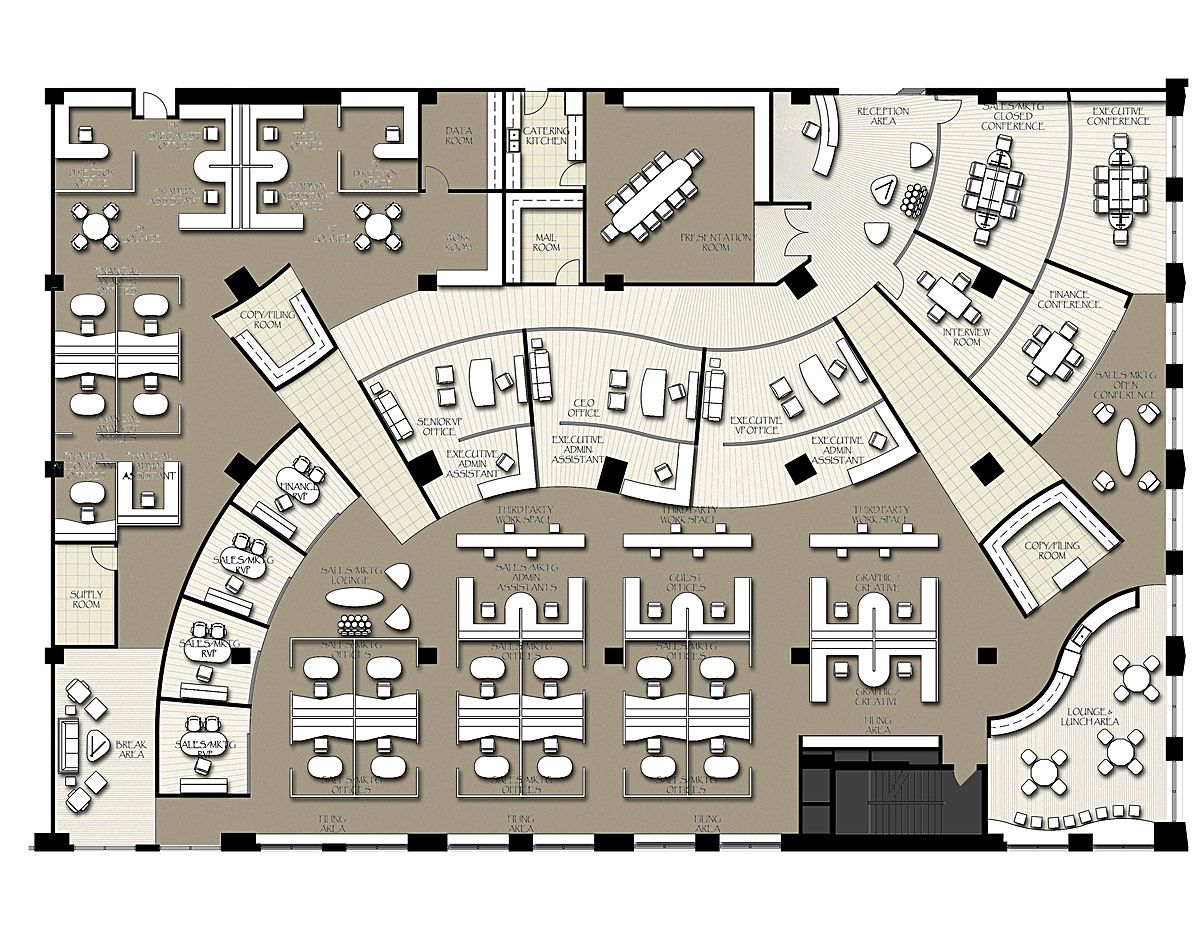 Office Floor Plan Designer Impressive Inspiration