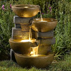 Attractive Pots LED Water Fountain By Jeco