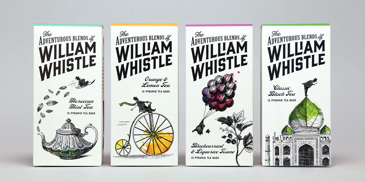 William Whistle is the eccentric, well travelled and adventurous character created for a new range of tea ...