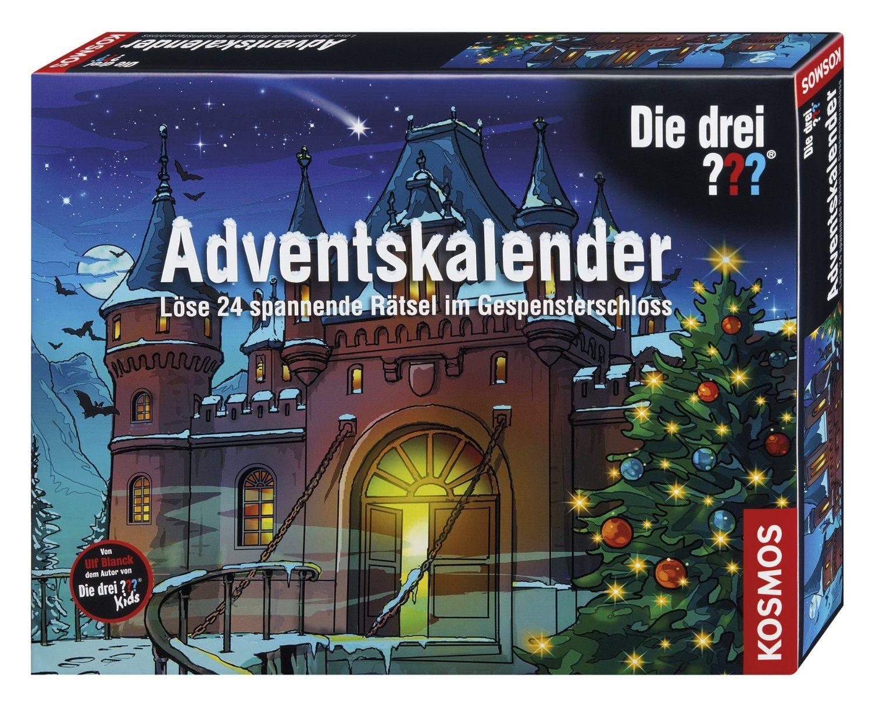 Kosmos 631673 Die Drei Fragezeichen Adventskalender Im Gespensterschloss 2014 Amazon De Spielzeug Adventkalender Adventskalender Advent
