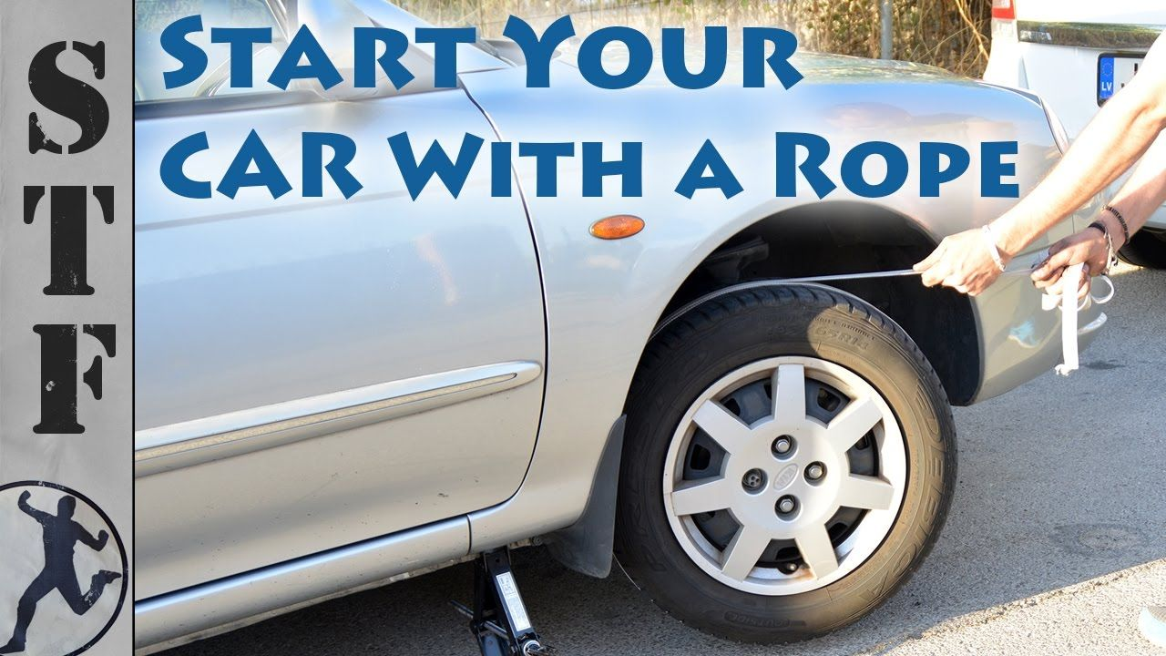 In This Video I Demonstrate A Way To Start Your Car When The