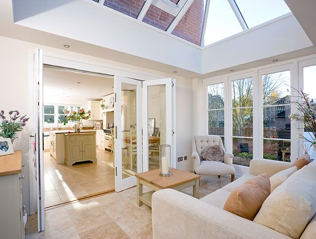 Image result for bi fold doors that lead onto a conservatory | How ...