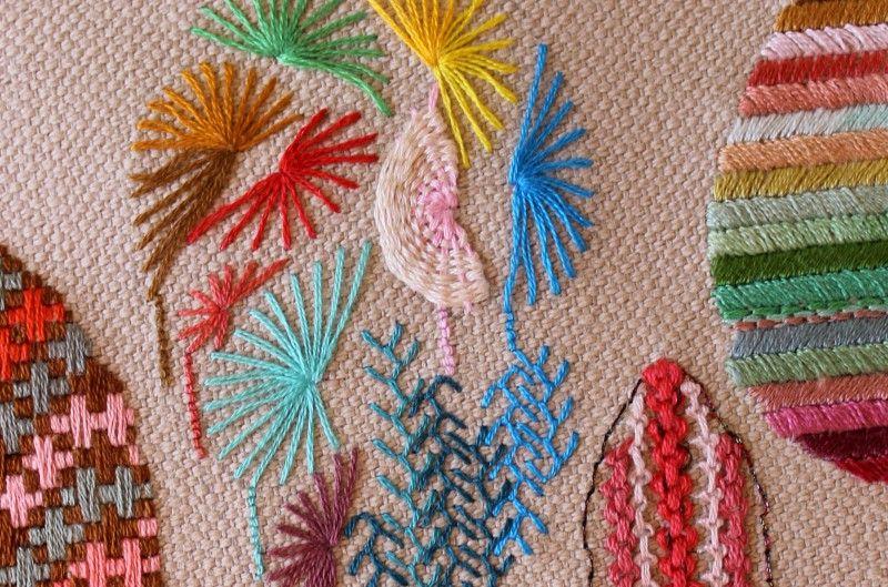 Entretenido taller de 3 horas para iniciarnos en el mundo del bordado en MADRID (30/06/2015) | YOLANDA ANDRÉS EMBROIDERY, apúntate online en The Hobby Maker