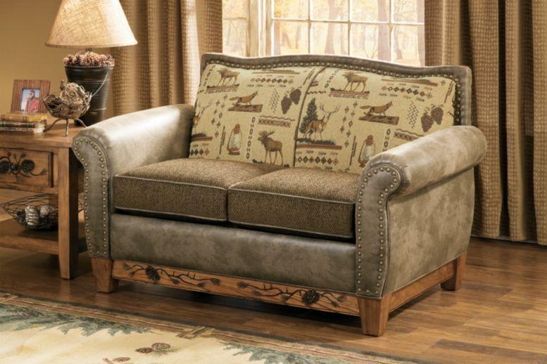 Marshfield Furniture Woodland Pines Loveseat : Cabela's