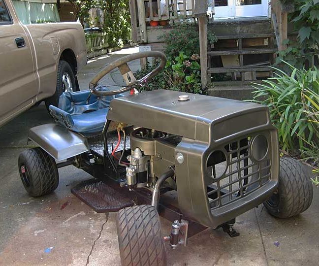 How To Make A Racing Lawn Mower Updated Tractor Mini