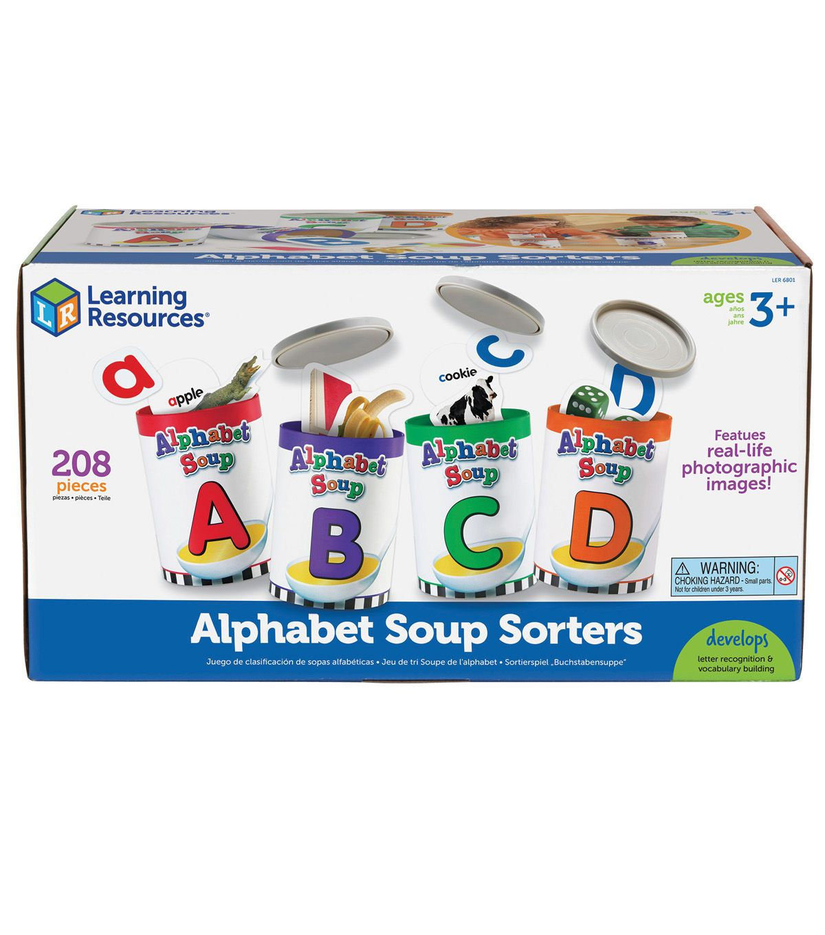 Learning Resources Alphabet Soup Sorters In