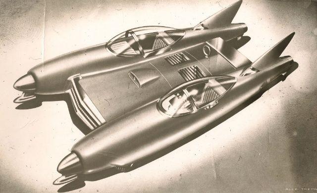 1942 pontooncar