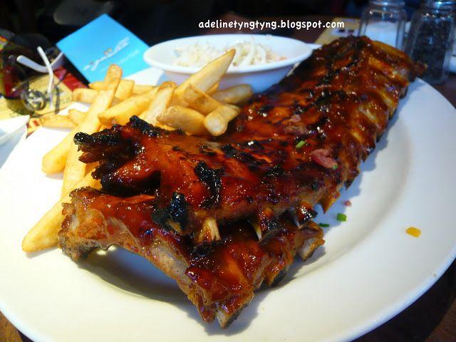 Food Archeologists Tony Roma S Pork Ribs Suntec City Singapore Food Pork Ribs Pork