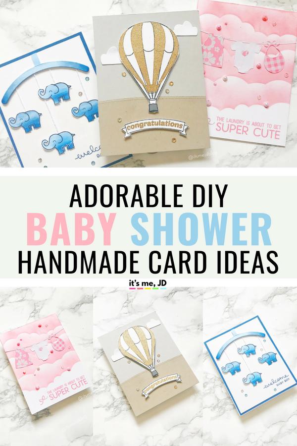 3 Adorable Diy Baby Shower Card Ideas That Anyone Can Do Diy Baby Stuff Baby Shower Diy Baby Cards Handmade