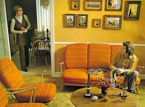 jaren 70 meubels | jaren \'70/\'80 | Pinterest | 70s decor, Interiors ...