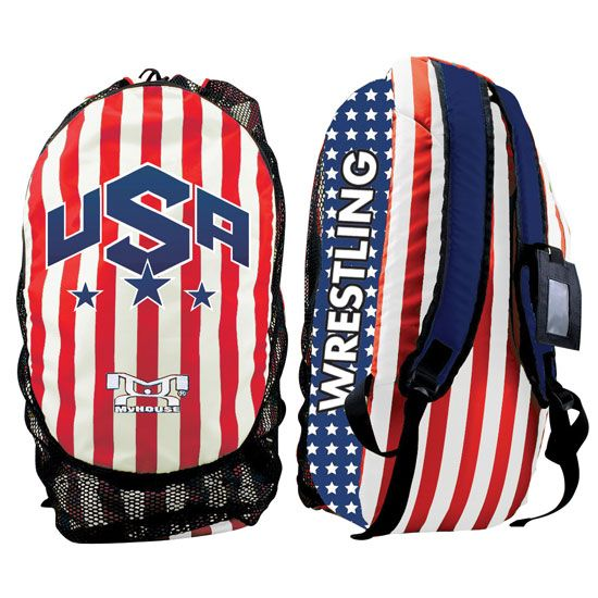 asics usa wrestling bag