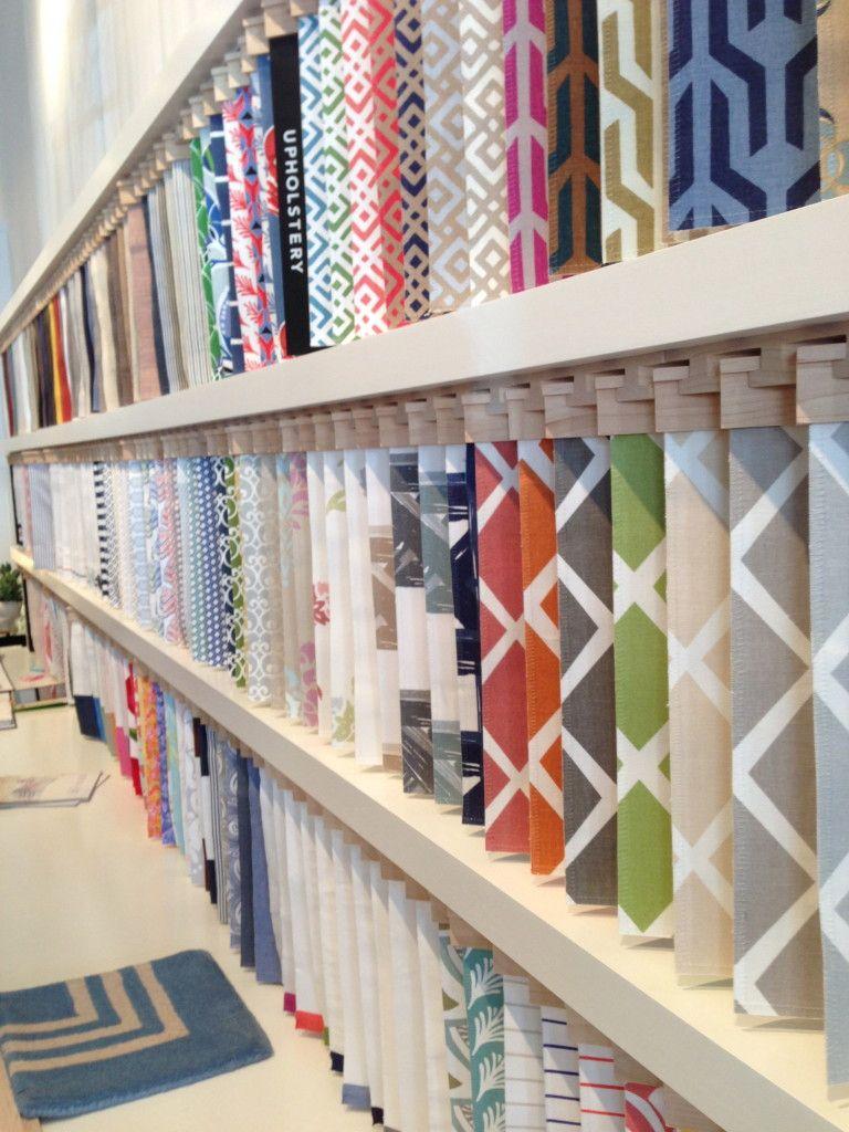 Serena & Lily Design Shop Opens in SF   Retail Therapy   Wallpaper display, Shop interior design ...