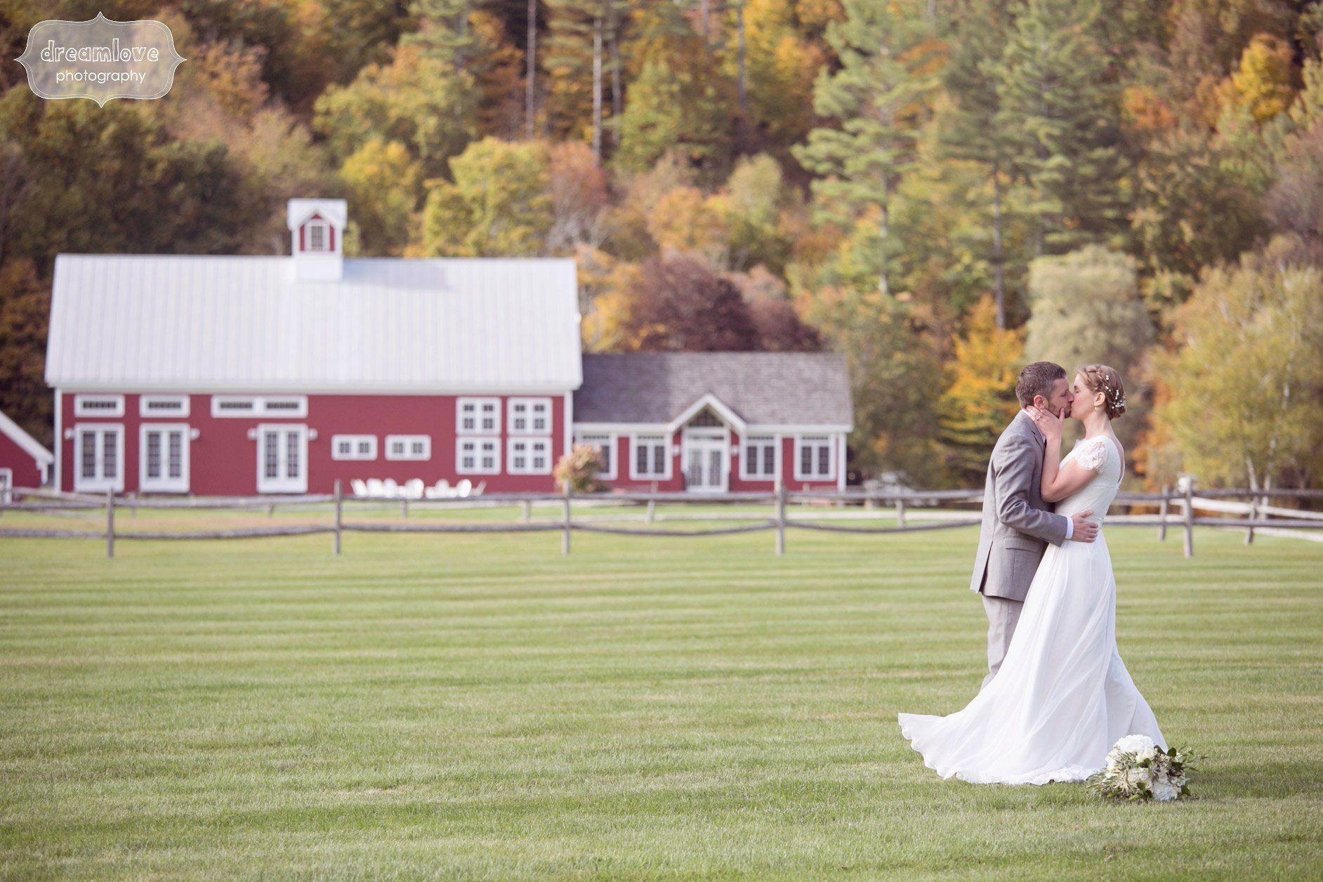 Barn Wedding at Riverside Farm in VT - Christina & Ryan ...
