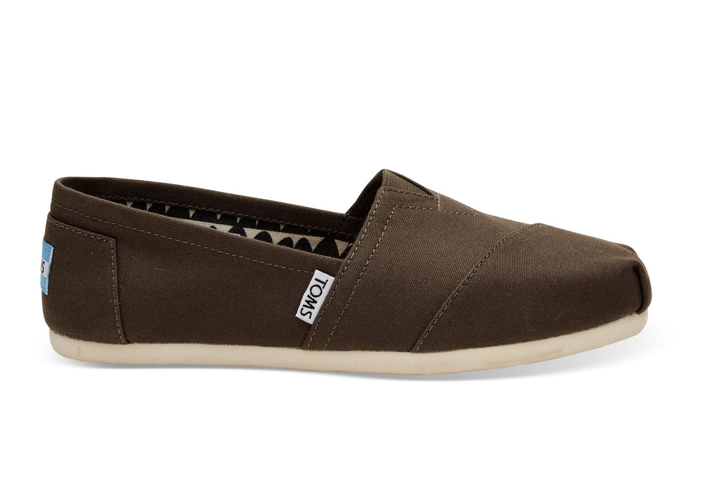 48bb3ccf474 The iconic TOMS slip-ons
