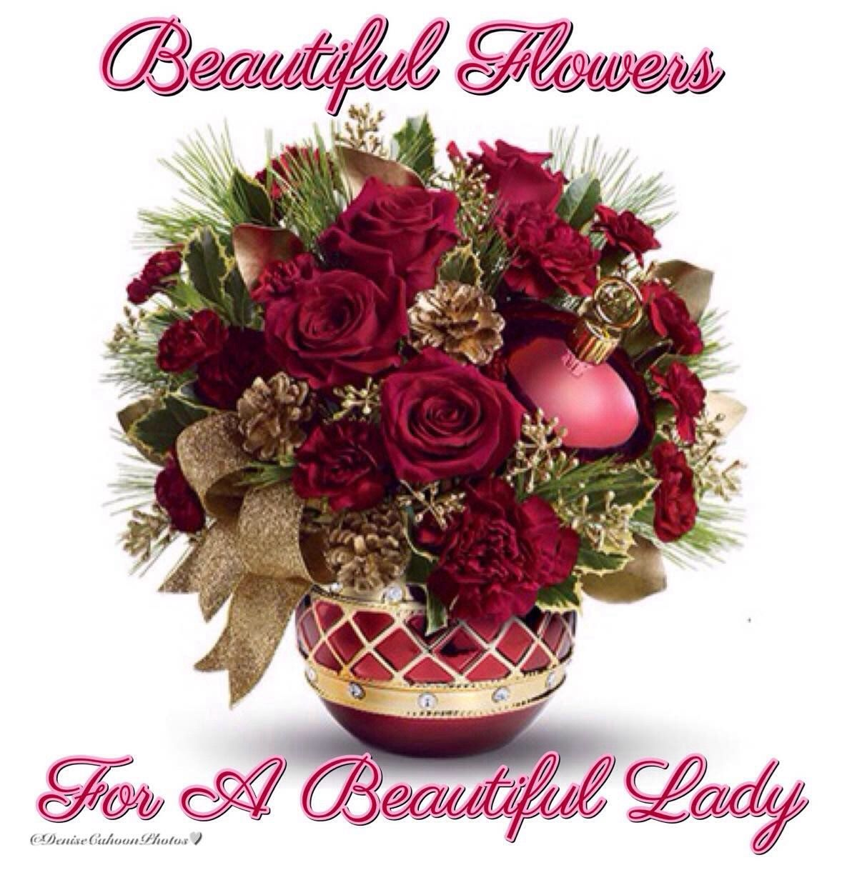 Beautiful Flowers For A Beautiful Lady Days Of Welcome