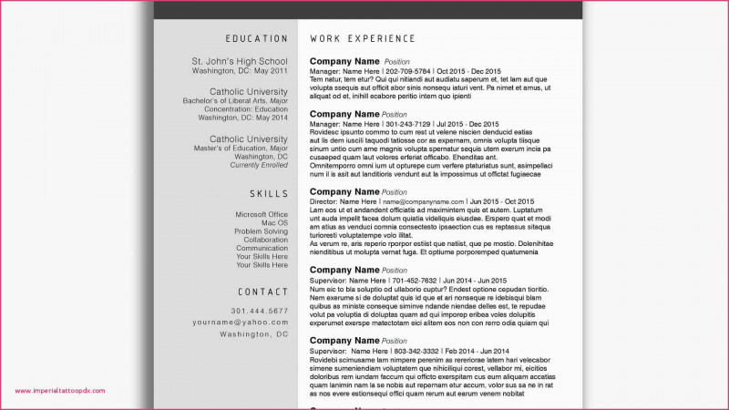 A3 Report Template Unique Problem Solving Skills Resume Sample 016 Resume Sample Problem Best In 2020 Teacher Resume Examples Resume Template Word Brochure Template