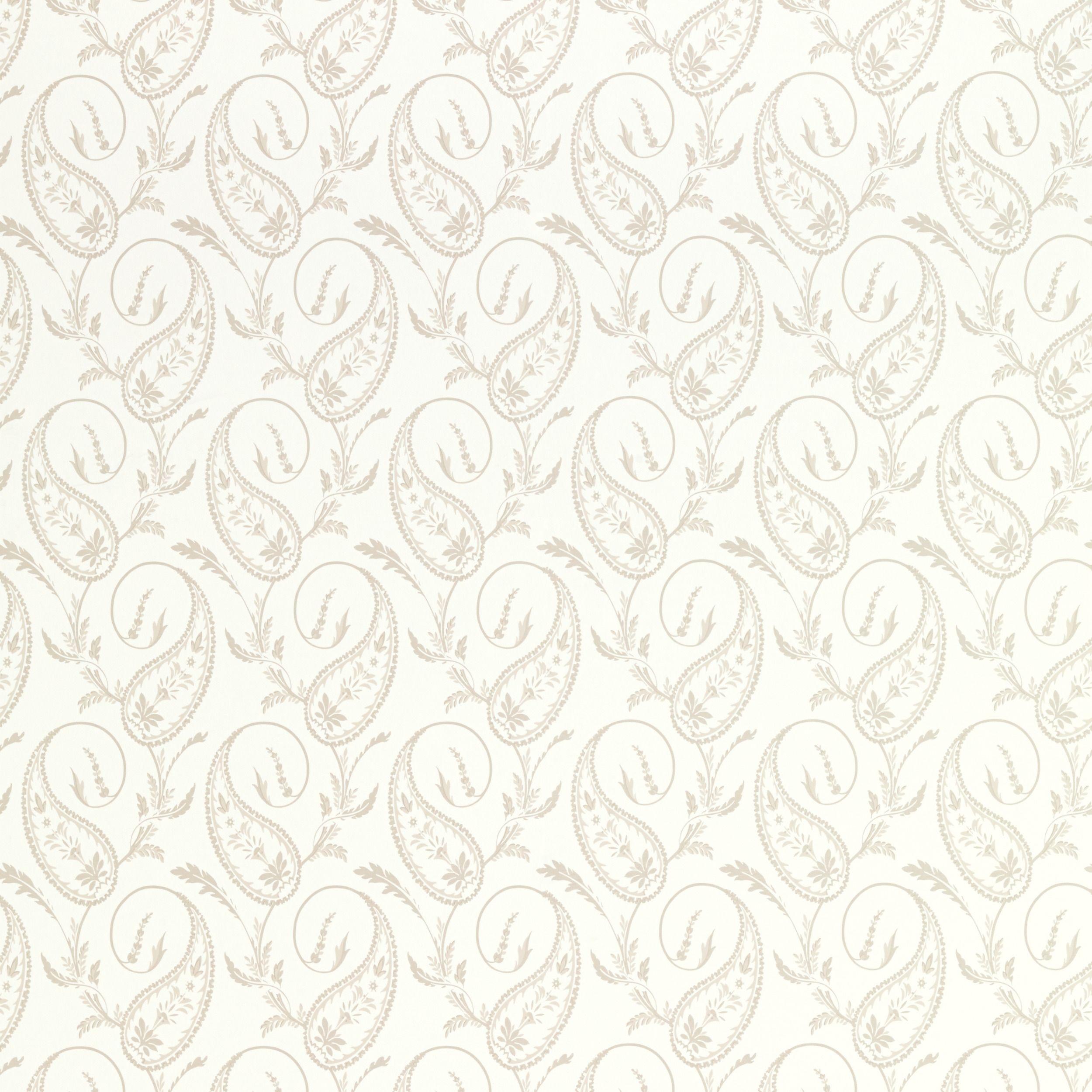 Thistlewood Natural Patterned Wallpaper