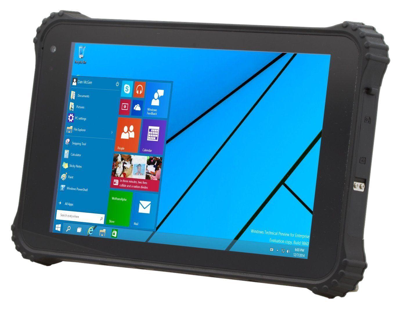 Vanquisher Ip67 Waterproof Rugged Tablet Pc Windows 10 Intel Quad Core Cpu High