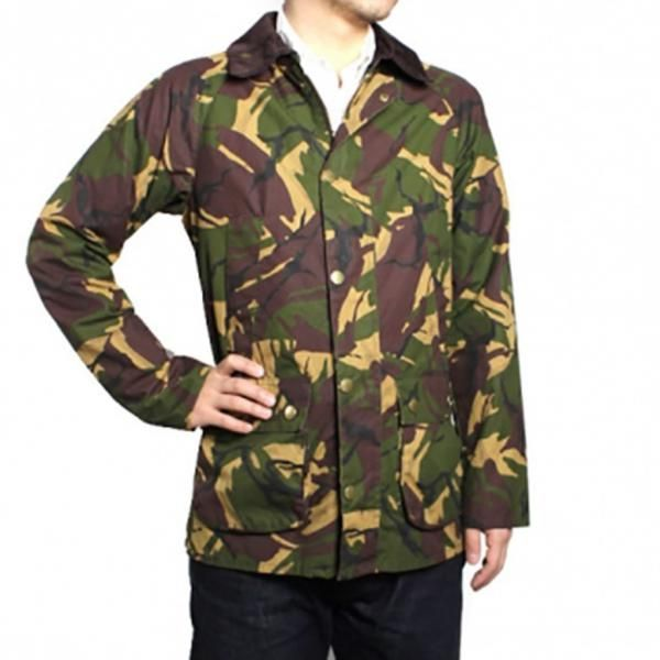 barbour bedale camo